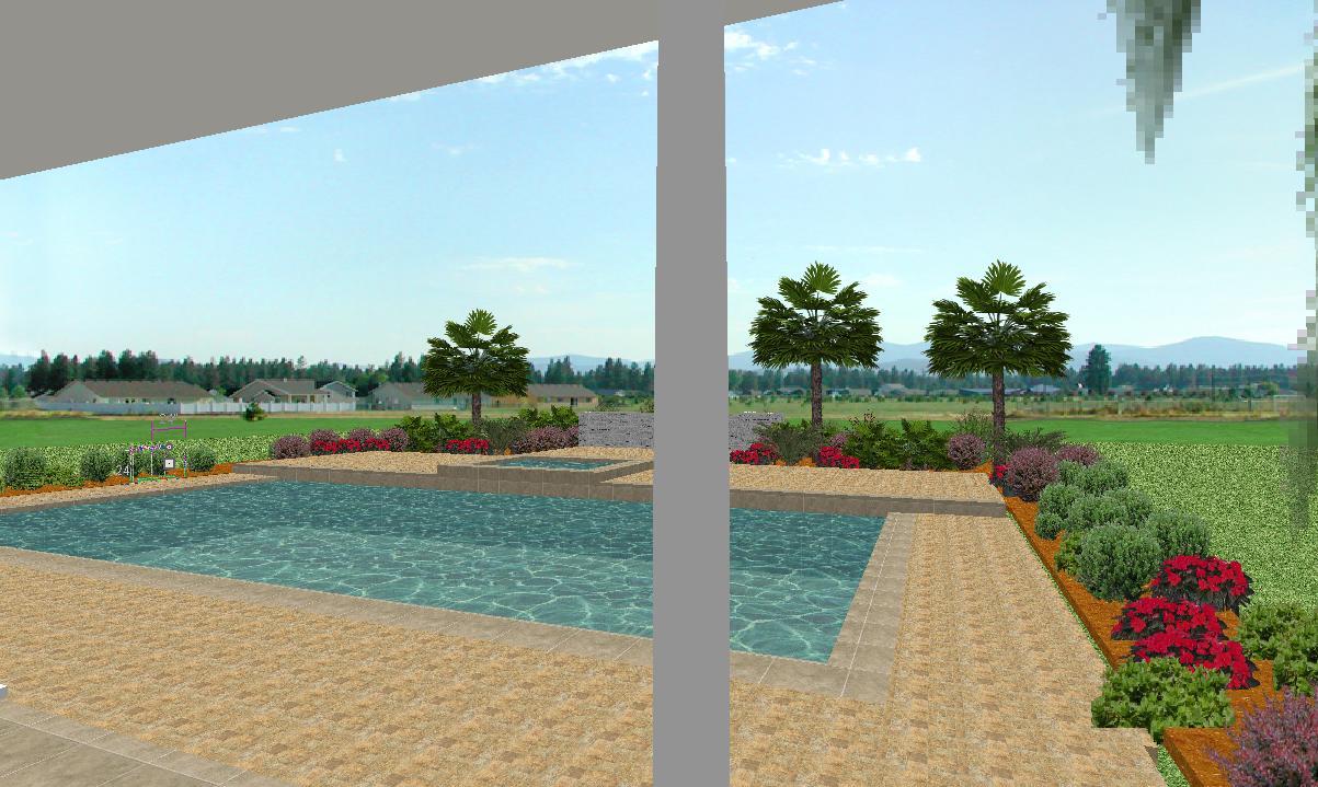 Home design house plans affordable home plans landscape for Affordable garden services